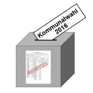 Kommunalwahlen am 11. September 2016